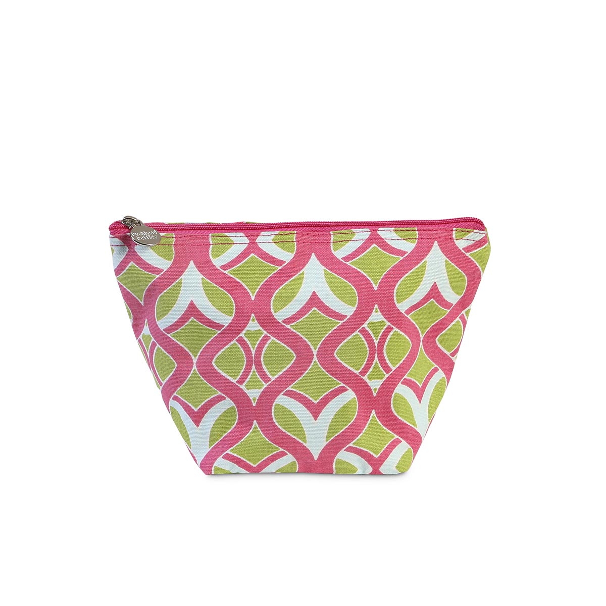 tango twist pink zipper bag pouch