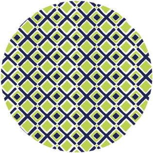 pattern - times square lime