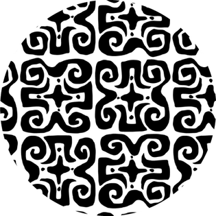 pattern - don't fret black
