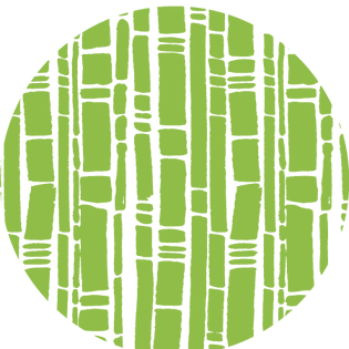 pattern - bamboo green