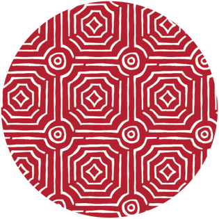 pattern - echo red