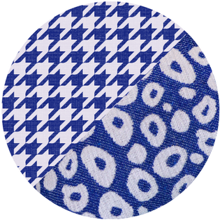 pattern - durry blue