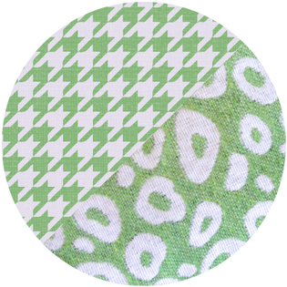 pattern - durry green