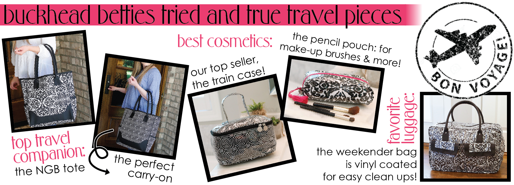 top bhb travel pieces