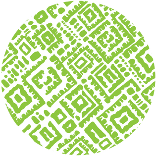 pattern - alma lime green