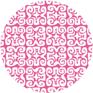 pattern - don't fret pink