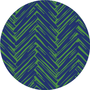 pattern - twill do navy and green