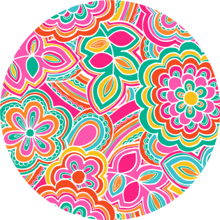 pattern - flower power